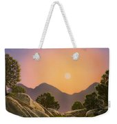 Glowing Landscape Weekender Tote Bag