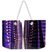 Glowing Lights Of An Electric Canyon Weekender Tote Bag