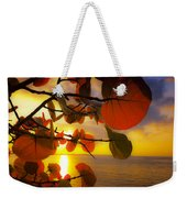 Glowing Red II Weekender Tote Bag