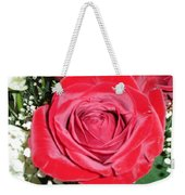 Glowing Rose Weekender Tote Bag