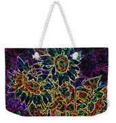 Glowing Sunflowers Weekender Tote Bag