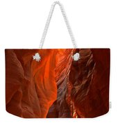 Glowing Walls Of Buckskin Gulch Weekender Tote Bag