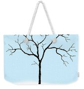 Gnarled In Winter Weekender Tote Bag