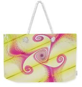 Gnarly Spiral Weekender Tote Bag