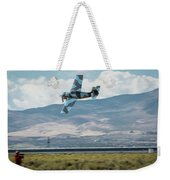 Go Fast Turn Left Fly Low Friday Morning Unlimited Bronze Class Weekender Tote Bag