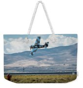 Go Fast Turn Left Fly Low Friday Morning Unlimited Broze Class Signature Edition Weekender Tote Bag