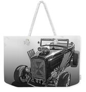 Go Hot Rod In Black And White Weekender Tote Bag