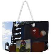 Go Phillies - Citizens Bank Park - Left Field Gate Weekender Tote Bag