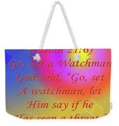 Go Set A Watchman Weekender Tote Bag