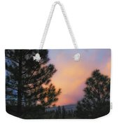 Go Softly Into The Night Weekender Tote Bag