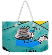 Go To Jail  Weekender Tote Bag