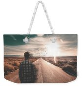 Go To The Sun Weekender Tote Bag