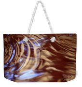 Go With The Flow - Abstract Art Weekender Tote Bag