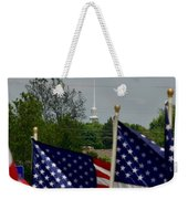 God And Country Weekender Tote Bag