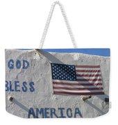 God Bless America Flag Restaurant Chandler Arizona 2005 Weekender Tote Bag