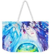 God, Goddess, Earth Ripple Effect Weekender Tote Bag
