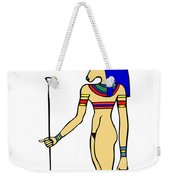 God Of Ancient Egypt - Hathor Weekender Tote Bag