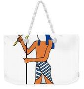 God Of Ancient Egypt - Horus Weekender Tote Bag by Michal Boubin