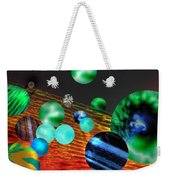 God Playing Marbles Tribute To Donovan Weekender Tote Bag