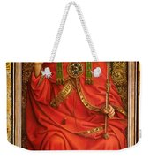 God The Father Weekender Tote Bag by Hubert and Jan Van Eyck