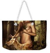 Goddess Artemis Weekender Tote Bag by Lourry Legarde
