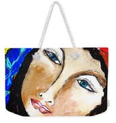 Goddess Bless Weekender Tote Bag