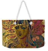 Goddess Lotus Weekender Tote Bag