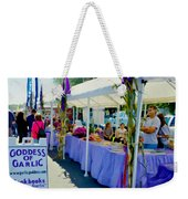 Goddess Of Garlic 1 Weekender Tote Bag