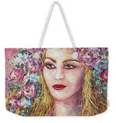 Goddess Of Good Fortune Weekender Tote Bag