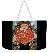 Goddess Of Grief Weekender Tote Bag