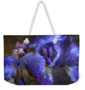Goddess Of Mystery Weekender Tote Bag by Carol Cavalaris