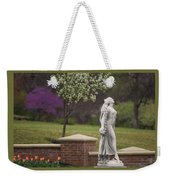 Goddess Of Spring Weekender Tote Bag