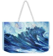 Goddess Of The Waves Weekender Tote Bag
