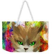 Goddess Santia As A Cat 687 Weekender Tote Bag