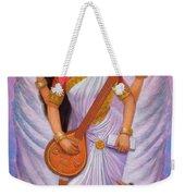 Goddess Saraswati Weekender Tote Bag
