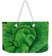 God's Kitchen Series No 5 Lettuce Weekender Tote Bag