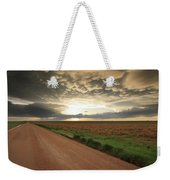 God's Way Of Calling It A Day Weekender Tote Bag