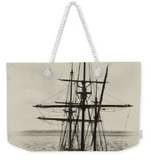 Godspeed At Port In Jamestown Weekender Tote Bag