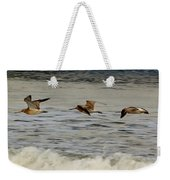 Bar Tailed Godwits Weekender Tote Bag