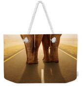 Going Away Together / Travelling By Road Weekender Tote Bag