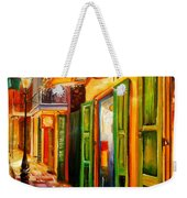 Going Back To New Orleans Weekender Tote Bag