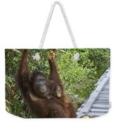 Going Bananas Weekender Tote Bag