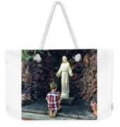 Going Before The Sacred Heart Of Jesus Weekender Tote Bag