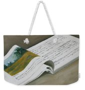 Going By The Book Weekender Tote Bag