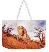 Going Down The Slope At Kodachrome Basin State Park. Weekender Tote Bag