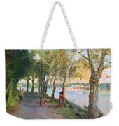 Going For A Stroll Weekender Tote Bag by Ylli Haruni