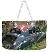 Going Nowhere Fast Weekender Tote Bag
