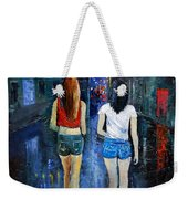 Going Out  Tonight  Weekender Tote Bag