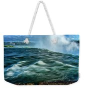 Going Over The Falls_dsc8595_16 Weekender Tote Bag