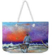 Going To Fish Weekender Tote Bag